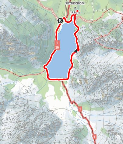 Cartina / Circuito estivo Lago di Braies