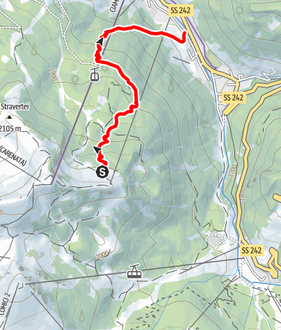 Map / Freeride Ciampinoi