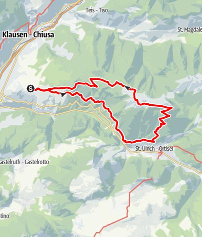 Mapa / Raschötz-Rundweg