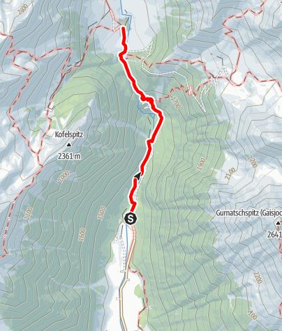 Mapa / Milchsteig