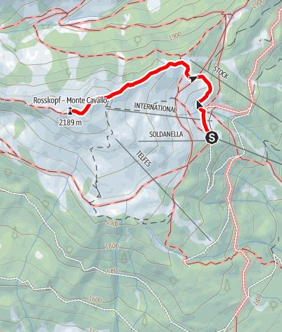 "Kaart / Gipfeltour Rosskopf ""Köpfl"""