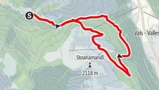 Mappa / Escursione circolare Rizzolo Jochtal
