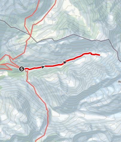 Kaart / Zum Günther-Messner-Biwak