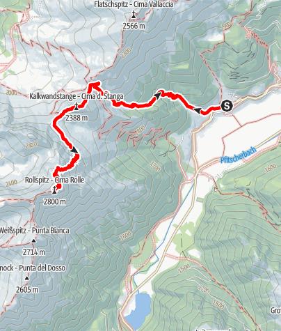 Mappa / Sulla Cima Rolle