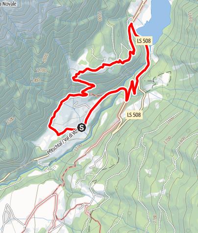 Mapa / Rundweg Afens