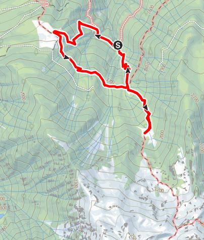 Cartina / Malga Latschinigo