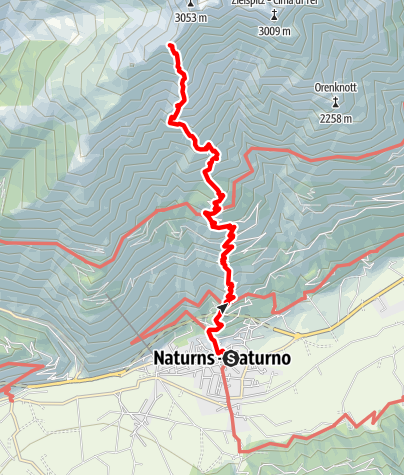 Mapa / Kirchbachspitze (2.951 m.)