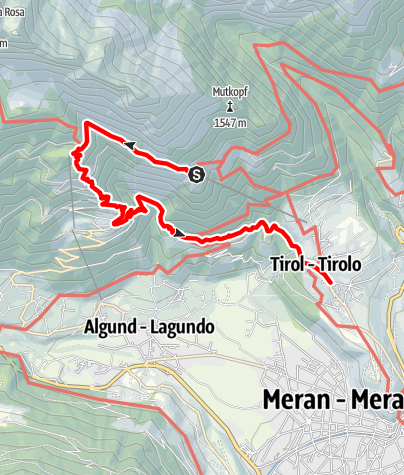 Map / Hike to the Leiter Alp