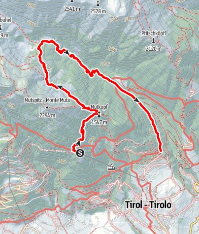 Cartina / Escursione al Rifugio Bockerhütte