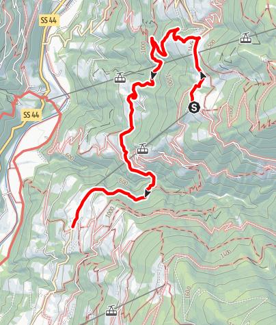 Mappa / Da Oberkirn a Verdins passando per Prenn e Talle di Sotto