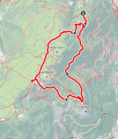 Mappa / Monte di Marlengo e Monte San Vigilio