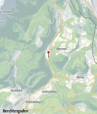 Karte / Gasthaus Almbachklamm