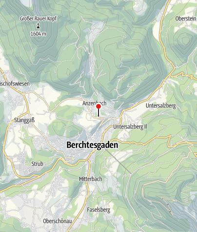 Karte / Kreisklinik Berchtesgaden
