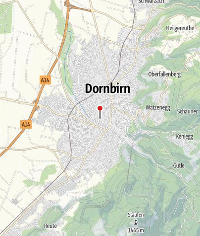 Kaart / inatura – Erlebnis Naturschau Dornbirn