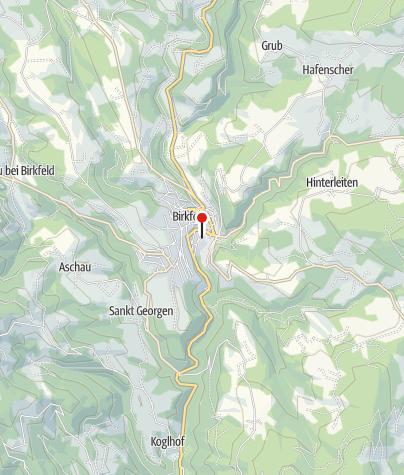 Karte / Dampfbummelzug Feistritztalbahn