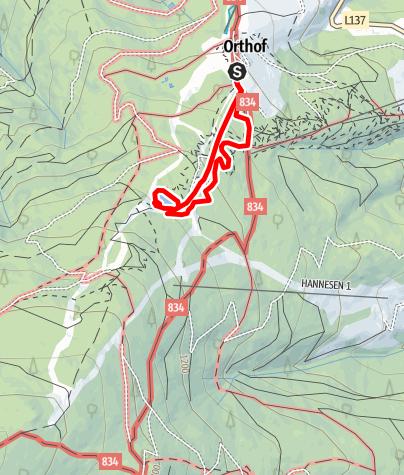 Map / Coronas Ameisenpfad
