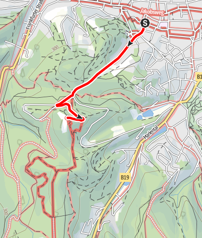 Map / Luther Trail Tour Tip: Luther Experience Trail Eisenach