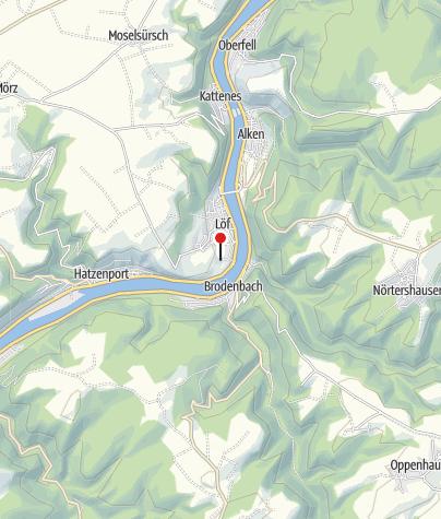 Karte / Moselstern Parkhotel Krähennest