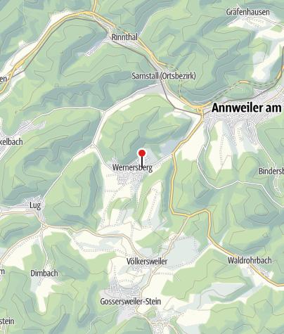 Karte / Gasthaus Trifelsblick