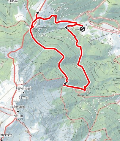 Karte / Geführte Wanderung Weninger Steig - Breite Ries