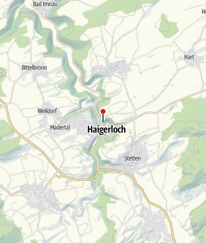 Karte / Schloss Haigerloch