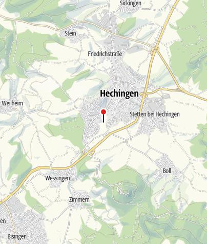 Karte / erleb dich pfad Hechingen
