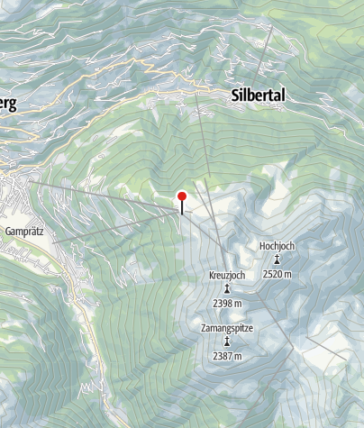 Karte / Silvretta Montafon Sennigrat Bahn