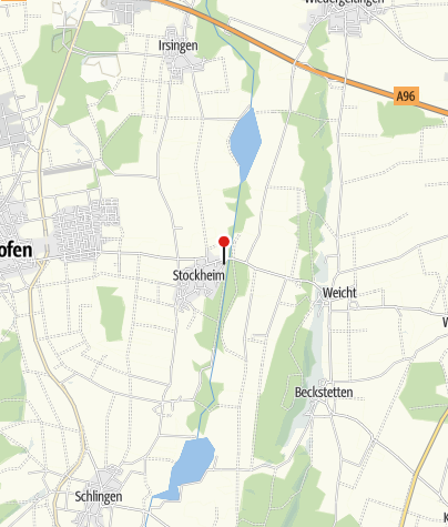 Karte / Kneipptretanlage in Stockheim