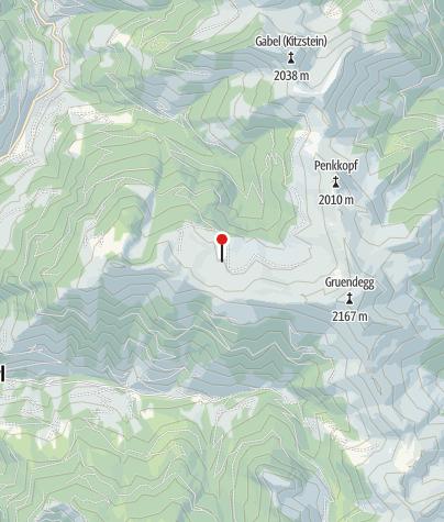 Karte / Spatalmen (nicht bewirtschaftet)
