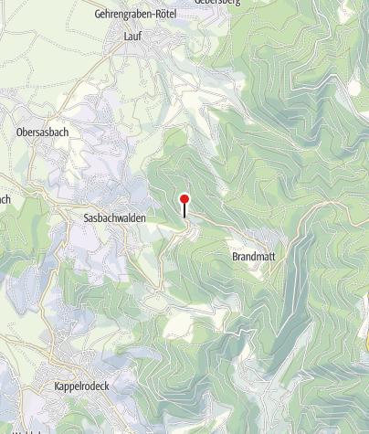 Karte / Sasbachwalden Bischenberg