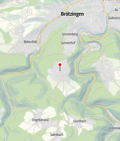 Karte / Büchenbronn Im Jockenlehen