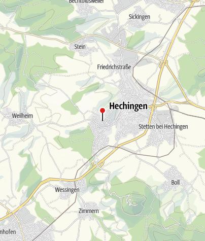 Karte / Hechingen Schillerstraße