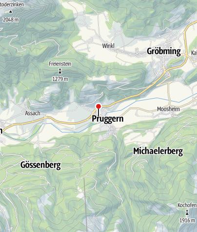 Karte / Gasthof Pruggererhof***