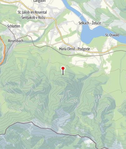 Karte / Bergkapellen Maria Elend