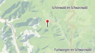 Karte / Naturfreundehaus Brend