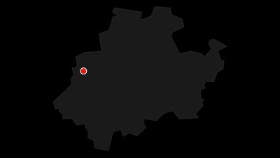 Kaart / Sauerland-Waldroute van Iserlohn naar Marsberg