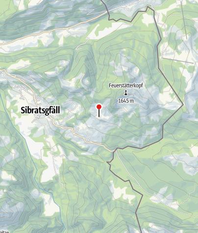 Karte / Jausenstation Wildries
