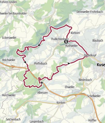 Karte / Kusel - Preußensteig