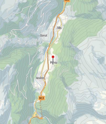 Map / Bergsportschule Grischa