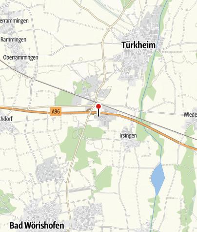 Karte / Bayerischer Flohmark in Irsingen-Unterfeld