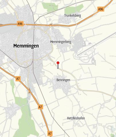 Karte / Kneippanlage Benningen
