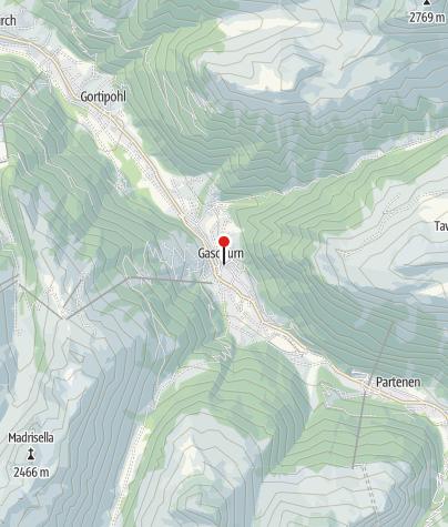 Karte / Montafoner Alpin- und Tourismusmuseum Gaschurn