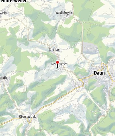 Karte / Ferienwohnung Steinhagen