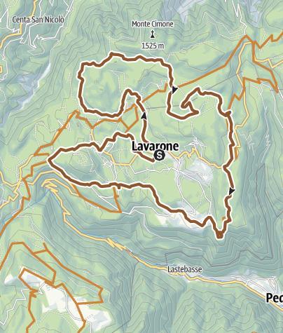 Map / 837 - Lavarone Bike Tour