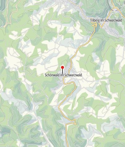 Karte / Friedhofskapelle Schönwald