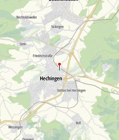 Karte / Klosterkirche St. Luzen Hechingen