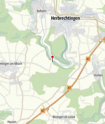 Karte / Domäne Falkenstein mit Aussichtspunkt