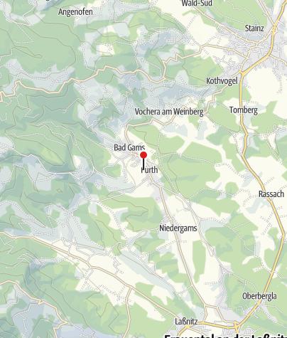 Karte / Freizeitzentrum und Seerestaurant GamsBad