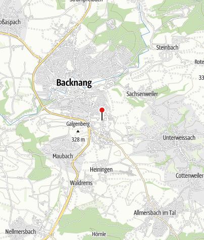 Karte / Backnang Im Kusterfeld
