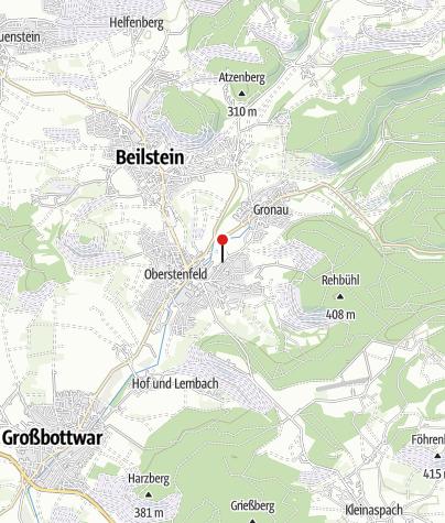 Karte / Oberstenfeld Kreuzstr.